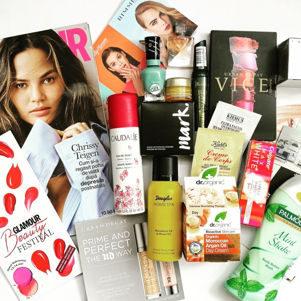 goodie bag glamour beauty festival, ramona barbu, papusa